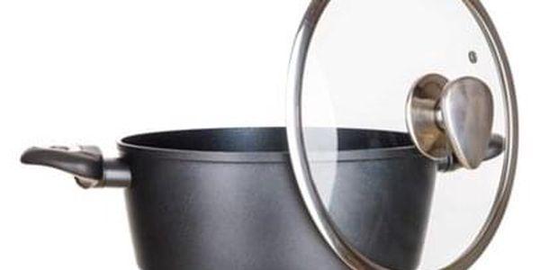 Banquet Sada nádobí s nepřilnavým povrchem Diamon Matte Grey, 11 ks2