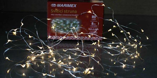 Marimex Svítící struna 80 LED - 180000942