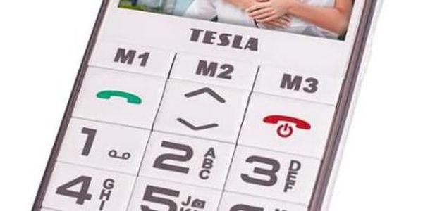 Mobilní telefon Tesla SimplePhone A50 bílý (TAMBPSNA50WH)3