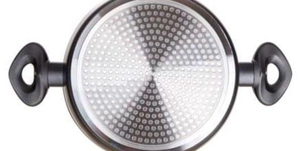 Banquet Sada nádobí s nepřilnavým povrchem Diamon Matte Grey, 11 ks5