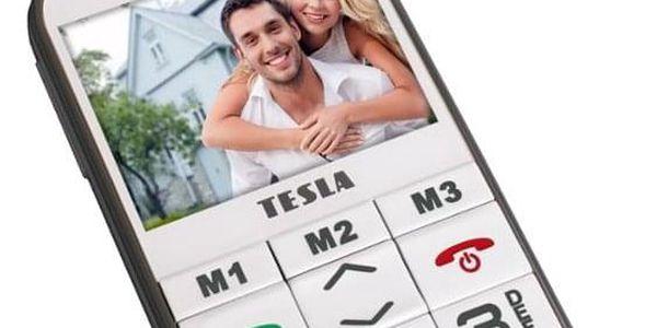 Mobilní telefon Tesla SimplePhone A50 bílý (TAMBPSNA50WH)5