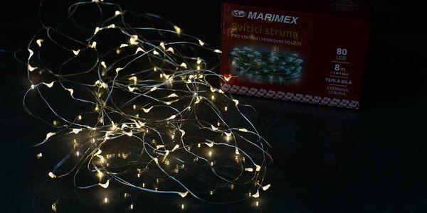Marimex Svítící struna 80 LED - 180000944