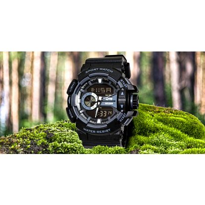 Vodotěsné vojenské hodinky Gtup 1080