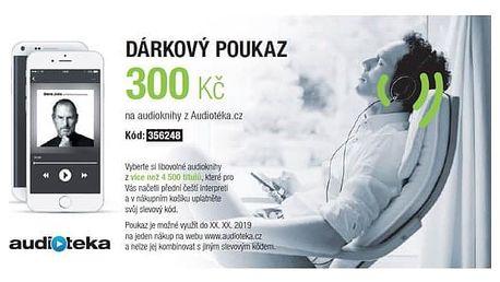 Audiotéka 300 Kč