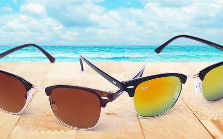 Sluneční brýle Kašmir Clubmaster s různými skly