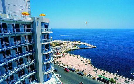 Malta, Sliema, letecky na 8 dní snídaně