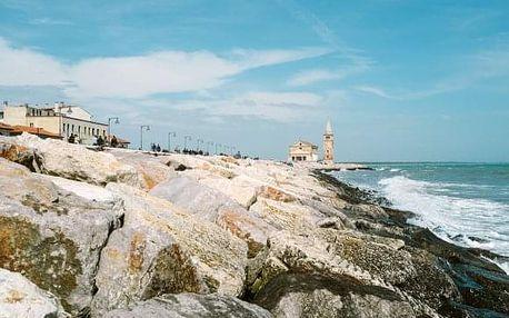 Itálie, víkendový výlet za koupáním v moři v Caorle