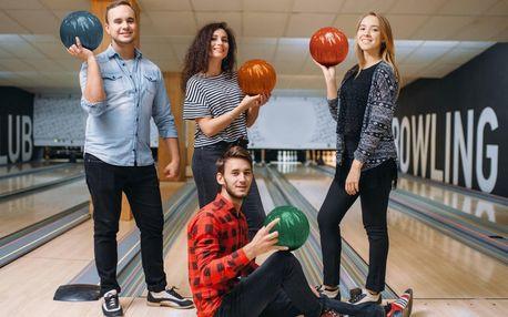 Bowling pro 2–6 hráčů: 6 profi bowlingových drah