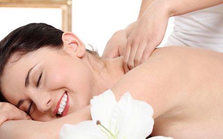 Masáž celého těla s masáží plosek nohou nebo obličeje