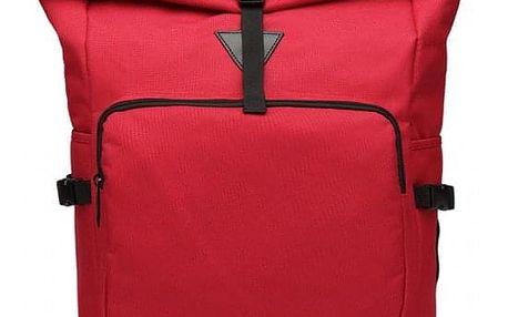 Dámský červený batoh Willa 6839
