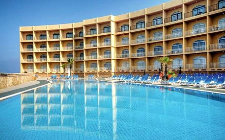 Malta, Mellieha, letecky na 8 dní snídaně
