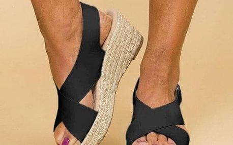 Dámské boty na klínu Mara