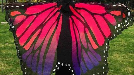 Barevná motýlí křídla