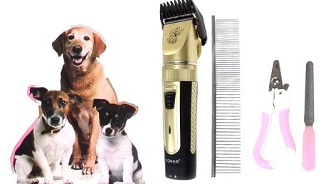 Stříhací set na psy
