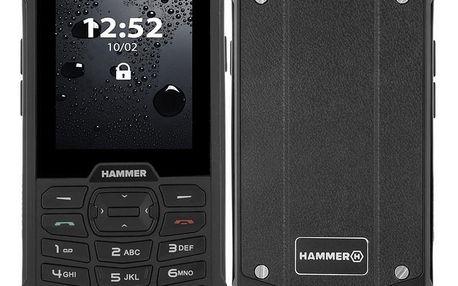 myPhone Hammer 4 Dual SIM černý (TELMYHHA4BK)