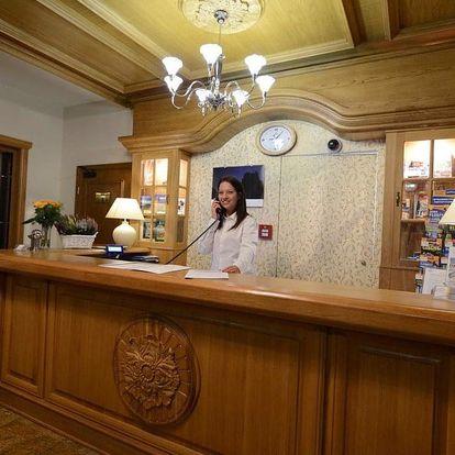Polonica-Zdrój, Hotel Alpejski*** s výhledem na hory