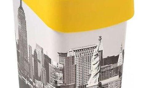 Odpadkový koš Curver Flipbin NEW YORK 02171-N27 25 l