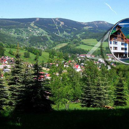 Pohodové apartmány v Krkonoších pro 4-8 osob