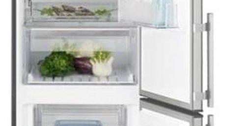 Chladnička s mrazničkou Electrolux EN3854NOX šedá/nerez