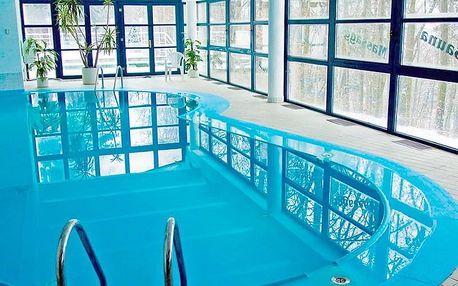 Jižní Čechy ve 4* hotelu s neomezeným vstupem do bazénu, sauny a fitness se snídaní