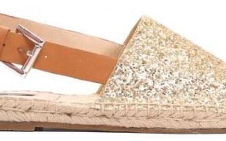 Dámské zlaté sandály Dion 8461