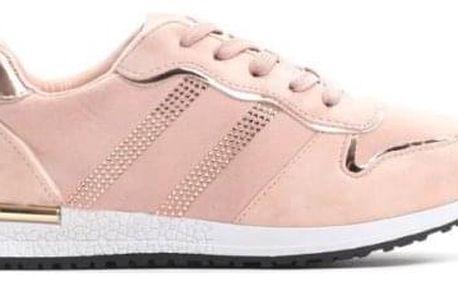Dámské růžové tenisky Morranda 8438
