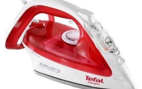 Žehlička Tefal Easygliss FV3962E0 červená