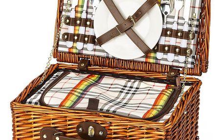 Piknikový koš Celestine pro 2 osoby s termoboxem