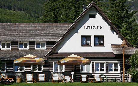Horský hotel ve Špindlerově Mlýně: polopenze, sauna