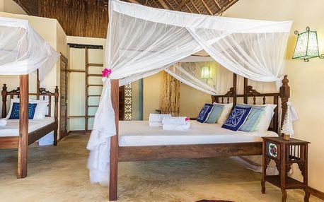 Zanzibar - Marafiki Bungalows na 9 dní, polopenze s dopravou letecky z Prahy