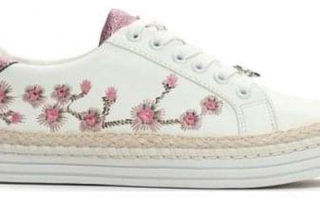 Dámské růžovo bílé tenisky Ari 9170