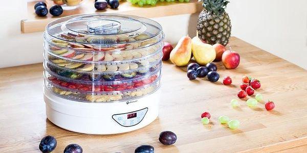 Sušička ovoce ROHNSON R-2907 bílá2