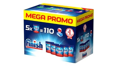 FINISH All-in-1 Max 5 x 22 ks Mega box (110 ks) – tablety do myčky