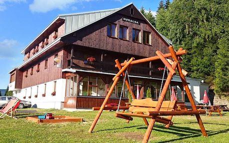 Léto ve Špindlerově Mlýně s polopenzí