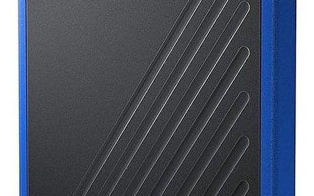 Western Digital My Passport Go 1TB modrý (WDBMCG0010BBT-WESN)