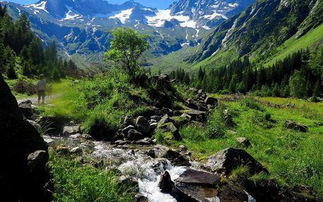 Alpy pro seniory - nádherná příroda Tyrolských Alp, Zillertal