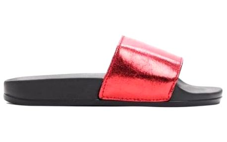 Dámské červené pantofle Davis 10761H