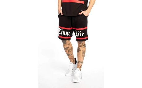 Thug Life / Short Brick in black 3XL