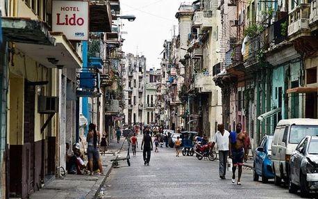 Kuba, Havana, letecky na 12 dní snídaně