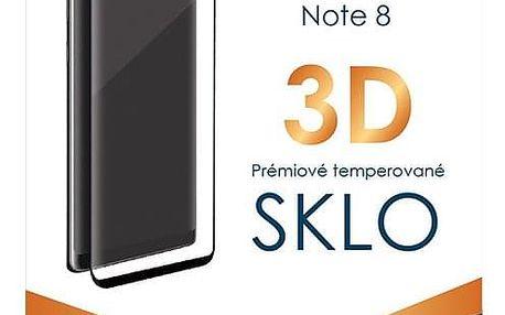 Ochranné sklo TGM 3D pro Samsung Galaxy Note 8 černé (TGM3DSGN8BK)