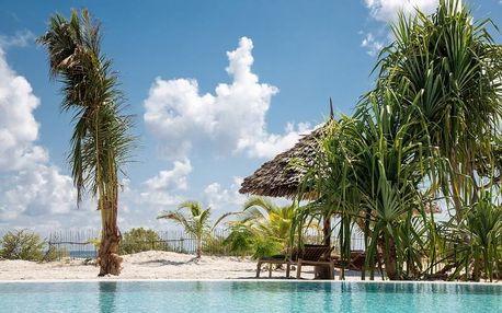 Zanzibar - Mwezi Boutique Resort (Jambiani) na 9 dní, polopenze s dopravou letecky z Prahy