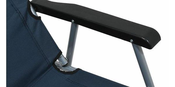 Cattara Židle kempingová skládací LYON tmavě modrá2