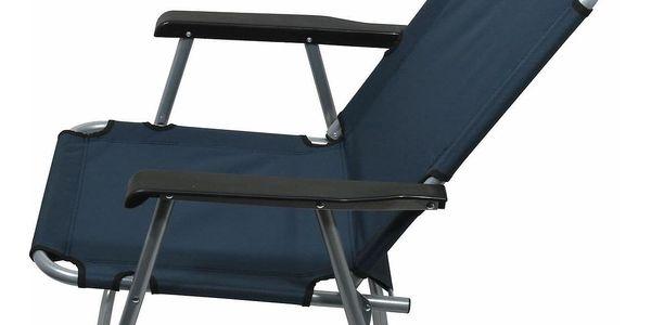 Cattara Židle kempingová skládací LYON tmavě modrá3