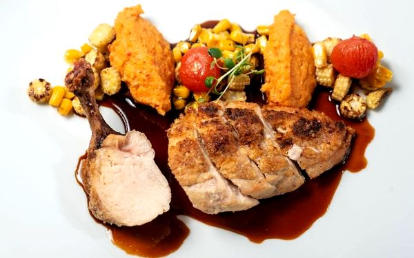 Degustační večeře pro dva ve Francouzské restauraci Art Nouveau3