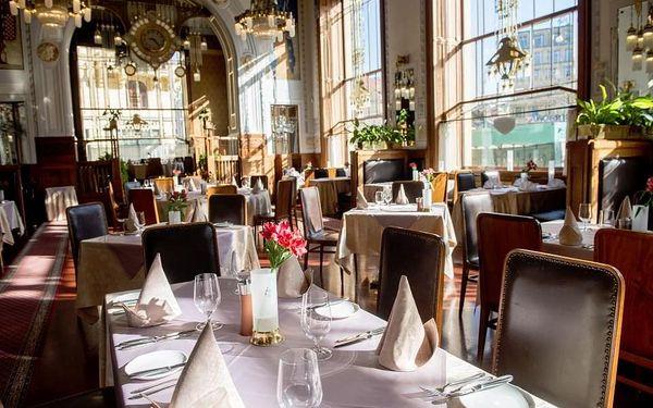 Degustační večeře pro dva ve Francouzské restauraci Art Nouveau4