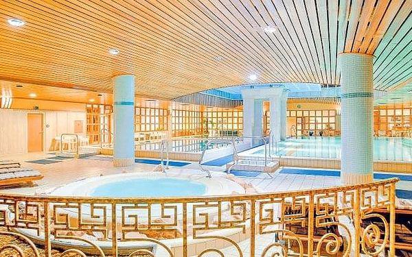 Budapešť u centra v The Aquincum Hotelu Budapest **** s termálními bazény