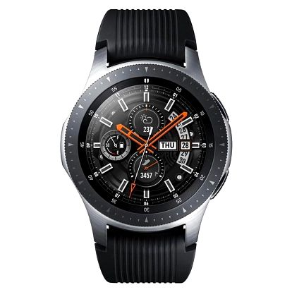 Samsung Galaxy Watch 46mm LTE stříbrné (SM-R805FZSATMZ)