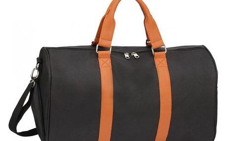 Černohnědá cestovní taška Tyler 0020