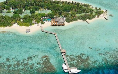 Maledivy - Eriyadu Island Resort na 10 dní, polopenze s dopravou letecky z Prahy