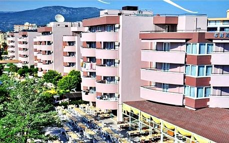 Turecko - Alanya na 7 až 8 dní, all inclusive s dopravou letecky z Brna nebo Prahy